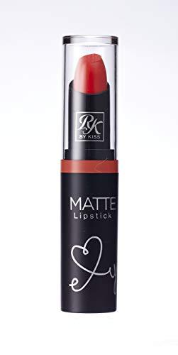 Ruby Kisses Ultra Matte Super Rich Lipstick 3.5g/0.12oz (RMLS10 CAPRI ORANGE) by Kiss