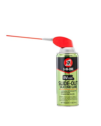 WD40 Company 120084 3 In 1 Rv Silicone Slide Out Lube Spray 11 Oz