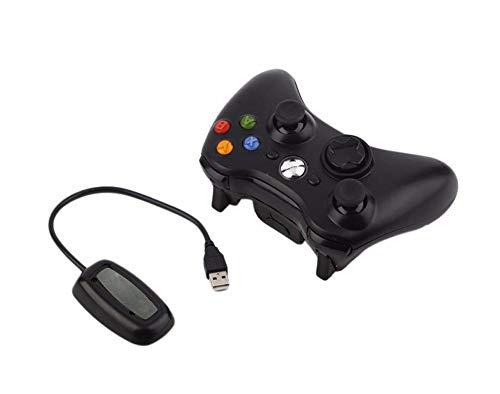 Game Controller PC, Drahtloser / Kabelgebundener Bluetooth-Controller Für Xbox 360 Gamepad Joystick Für X Box 360-Steuerungsspiele Win7 / 8/10 PC Game Gamepad-2.4G Receiver Black-