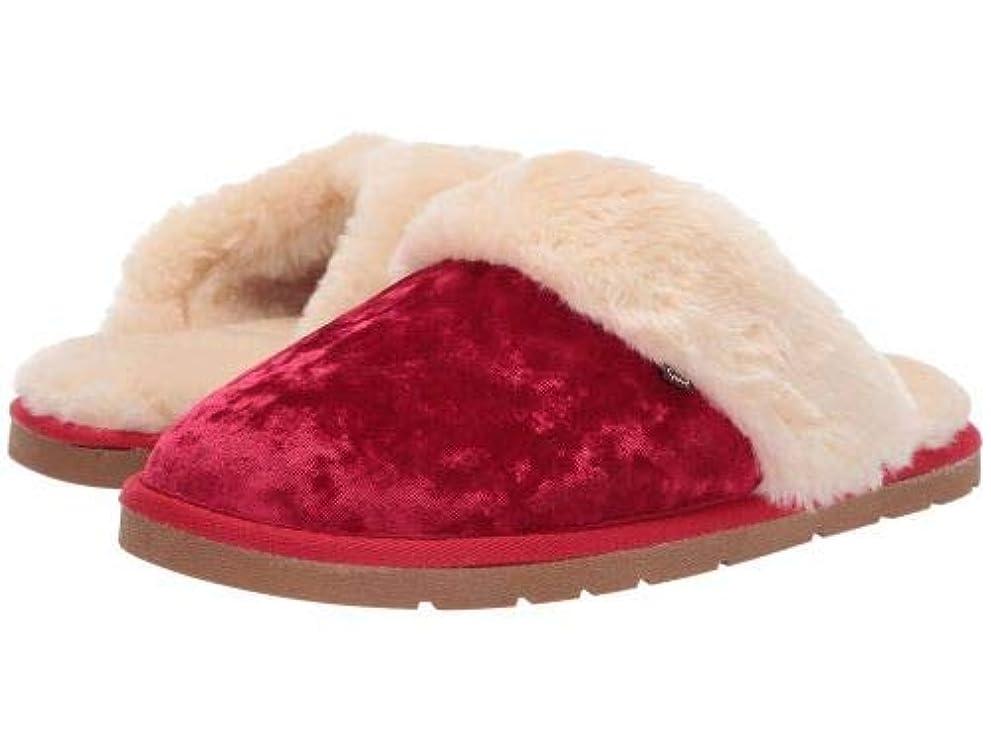 印象的病気だと思う下位Lamo(ラモ) レディース 女性用 シューズ 靴 スリッパ Scuff - Red Velvet [並行輸入品]