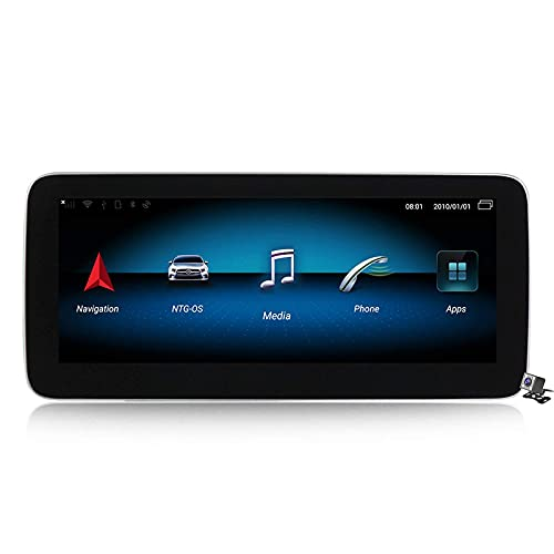 WYZXR GPS 10.25/12.5 inch Blu-ray Screen Android 10 Car Stereo for Benz A W176 CLA C117 X117 GLA X156 2013-2018 Built in Carplay DSP Support Car Radio Multimedia CD DVD/GPS Navigation/SWC/BT