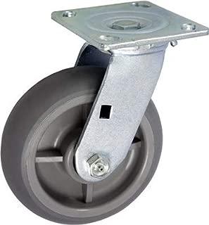 """CasterHQ- 8"""" X 2"""" Swivel Drywall CART Caster - TPR Wheel - 700LBS Each"""