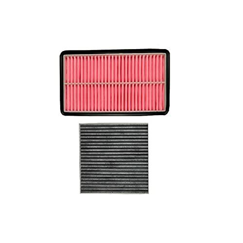 Filtro Conjunto de aire acondicionado de aire Aire acondicionado FIT FIT DE MAZDA CX-7 2.3 Modelo 2009-2013 Filtro accesorio de automóvil OEM: AJ57-13-Z40 filtro de aire ( Color : 2pcs Filter )