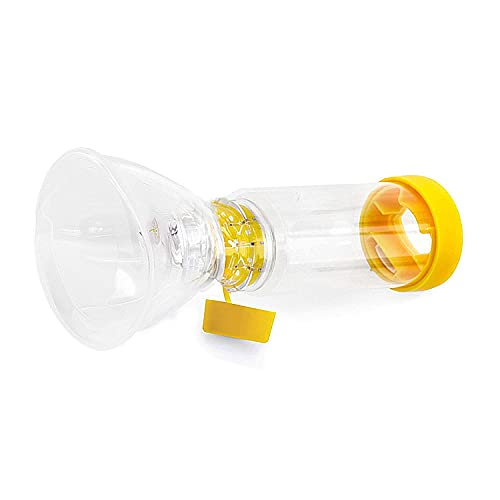Spacer for Kids&Adult,Two Size Fit All Completely Sealed Yellow (Adult)