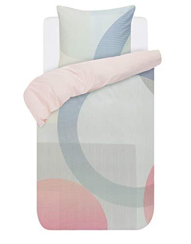ESPRIT Bettwäsche Luro Baumwollsatin Multi, 155x220 + 1 x 80x80 cm