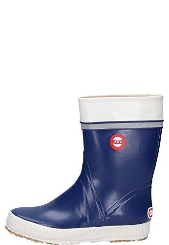 Nokian Footwear Hai - Wadenhohe Gummistiefel für Damen und Herren, handgefertigt aus Naturkautschukmischung, 44 EU, Blue
