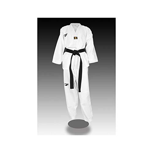 Dorawon, Dobok Taekwondo Bordado Rice Talla 180 cm, Cuello Blanco