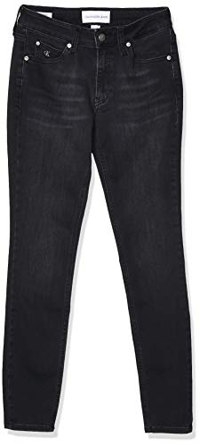Calvin Klein Jeans Ckj 011 Mid Rise Skinny Hose Damen, Blau(Denim),...