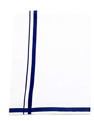 Adt Saral Men's Cotton Dhoti (Blue, Free Size)