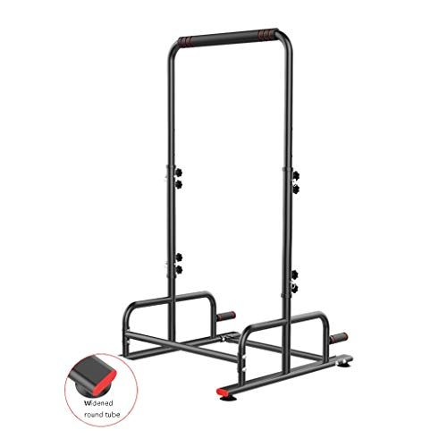 Hantelbänke Dip Ständer Multi-Funktions-Klimmzüge Reck for Kinder Indoor Fitnessgeräte Bodenhänge Bar (Color : Black, Size : 60 * 100 * 220cm)