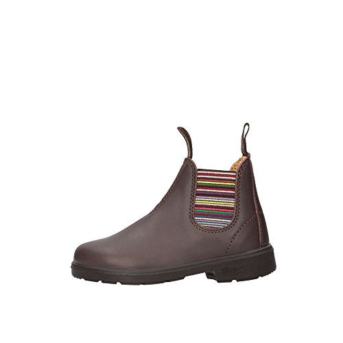 Blundstone Unisex-Kinder Classic 1413 Chelsea Boots Stiefel, Braun (Brown Stripes Brown Stripes), 30.5 EU (12C UK)