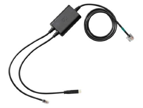 Sennheiser Cehs-Po 01 POLYCOM Soundpoint IP430 und Hoeher Adapter-Kabel Fuer Elektronische Rufannahme