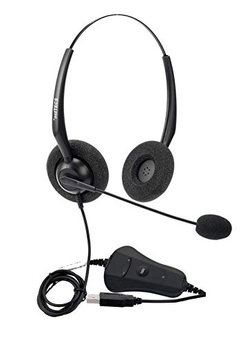 *astTECS HS100 USB headsets for Call Centres,Home,Online Class and Games.