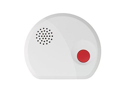 LUPUSEC Wassermelder für die XT Smarthome Alarmanlagen, kompatibel mit den XT Funk Alarmanlagen (außer XT1), interne Sirene, Sensoren an Unterseite oder Kabel, batteriebetrieben, Energieklasse A, 12007