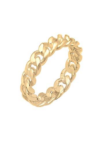 Elli Ring Damen Bandring Knoten Unendlich in 925 Sterling Silber