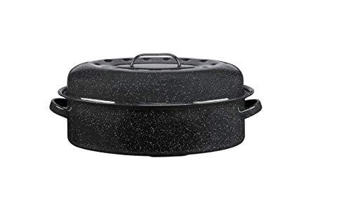 Warmcook - 0508 - Cocotte à Enfourner - Noir - 38x26x16 cm