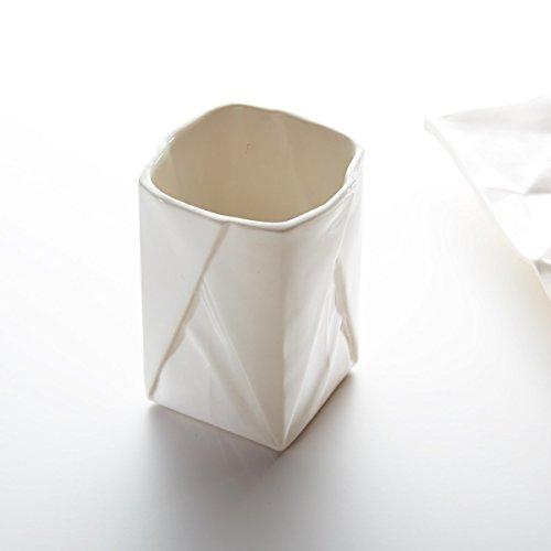Origami Becher aus Porzellan