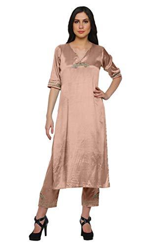 Moomaya Kleid Salwar Kameez Viskose Santoon Frauen Ethnische Indische Kleidung