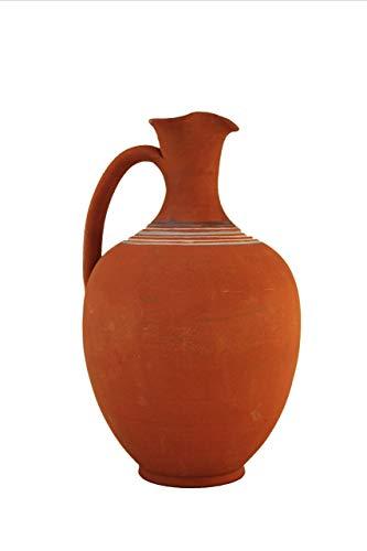 Faik's Handmade Caraffa/brocca di Vino in Terracotta Selezione 34'