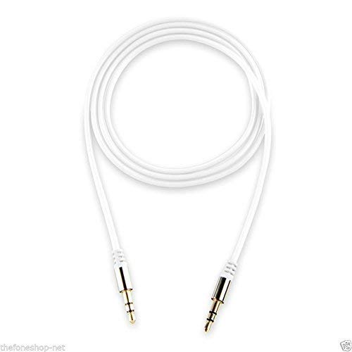 Intex DC-1.5M AUX Cable - 4.9 Feet (1.5 Meter) - (White)