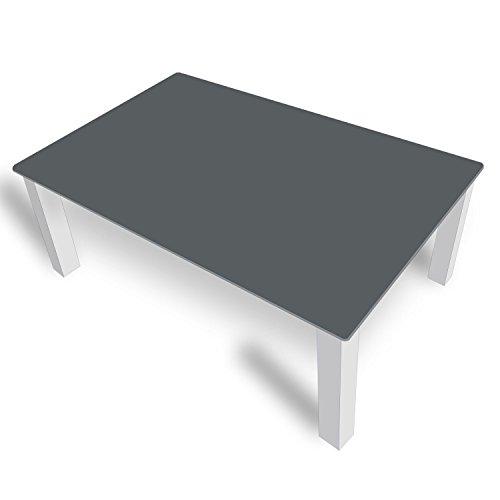 DekoGlas FMK-52-073 Table Basse en Verre avec Plateau en Verre 80 x 80 cm 100 x 100 cm 90 x 55 cm 112 x 67 cm 120 x 75 cm