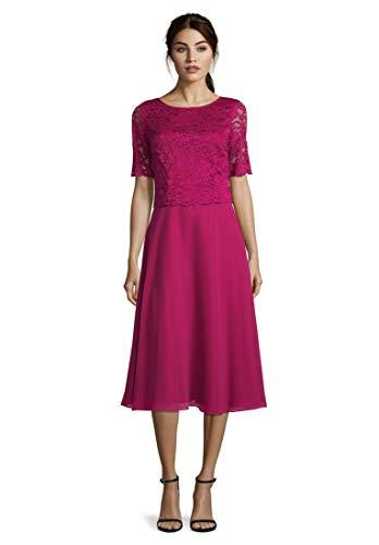 Vera Mont Damen 0113/4825 Partykleid, Rosa (Berry Pink 4221), (Herstellergröße: 42)