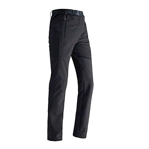 Mens Softshell Trousers Waterproof Golf Trousers Snow Ski Fleece Lined Outdoor Walking Hiking Pants Winter Overtrousers