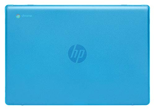 mCover Hard Shell Case for 2020 14' HP Chromebook 14a Series (Like 14a-na0023cl Sold at Costco, NOT Compatible with Older HP C14 G1 / G2 / G3 / G4/ G5 / G6 Series) laptops (Aqua)