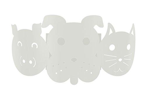 Tosel 31946 Applique Lumière, Acier, E27, 40 W, Gris, 25 x 12 cm