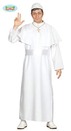 Fiestas Guirca Adult Papa Kostüm weiße Tunika eine Größe passt für alle