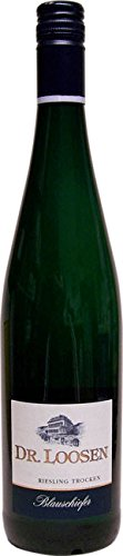 Weingut Dr. Loosen Riesling Blauschiefer 2016 Trocken (6 x 0.75 l)