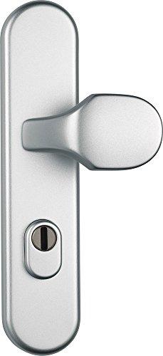 ABUS Tür-Schutzbeschlag KLZS714 F1, mit Zylinderschutz rund, aluminium, 37402