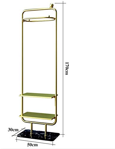 Kapstok garderobestandaard kledingrek marmeren chassis 2-laags opslag in Europese stijl ijzeren kast garderobe schoenenrek hangen kleding slaapkamer woonkamer B A