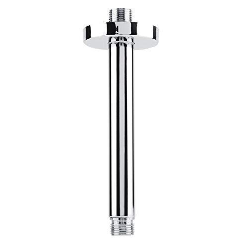 Nikou Extensión de la Cabeza de Ducha del Acero Inoxidable del Cuadrado del Tubo del Brazo de la Ducha para la Cabeza de Ducha del Techo del Cuarto de baño (tamaño : #20)