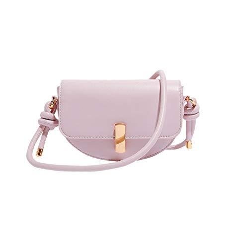 Promod Kleine, halbrunde Handtasche Hellviolett One size