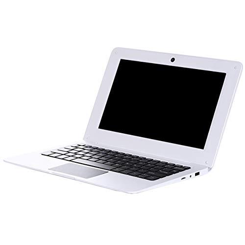 DDyna Tablet, PC Laptop 10.1 Pulgadas 2Gb + 32Gb Windows 10 Intel Atom X5-Z8350 Computadora de Cuatro n¨²cleos Tablet Pc de Pantalla Grande (Blanco)
