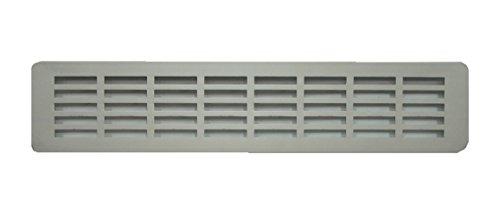 Entlüftungsgitter für Küchenarbeitsplatten, Türlüftungsgitter, Belüftung, eloxiertes Aluminium