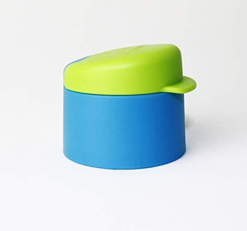 EcoEasy Tupperware - Tapa de repuesto para botella de 750 ml, color azul y verde