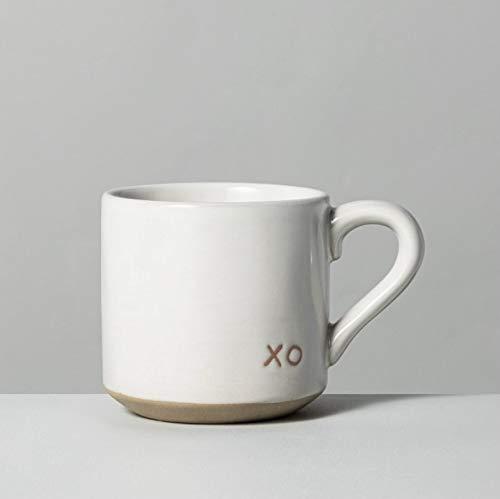 Hearth and Hand with Magnolia 2021 Stoneware Farmhouse Mug XO by Joanna Gaines