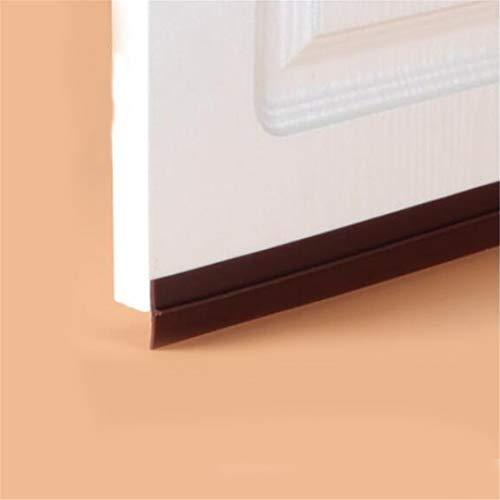 35Mm Breite selbstklebende Silikontür Fenster Boden Dichtungsstreifen Dichtungsstreifen Schalldämmung Brown