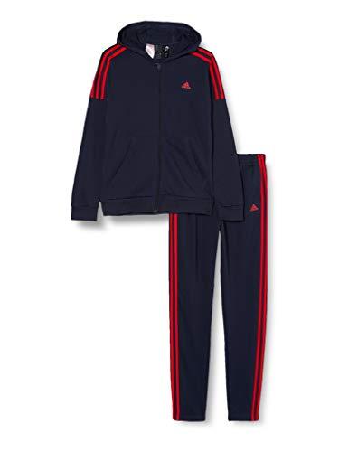 adidas JB Cotton TS Survêtement, Legion/Scarlet, 910A Mixte Enfant