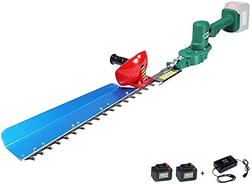 wsbdking Hedge Trimmer Hedge Cutter 21V Cordless Hedge Trimmer Cutter Lightweight Quick Charging 55cm Blade (Size : Single edge) (Size : Single edge)