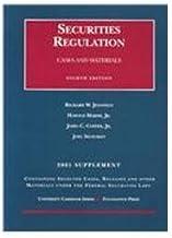 Securities Regulation 2001 Supplement: Cases and Materials