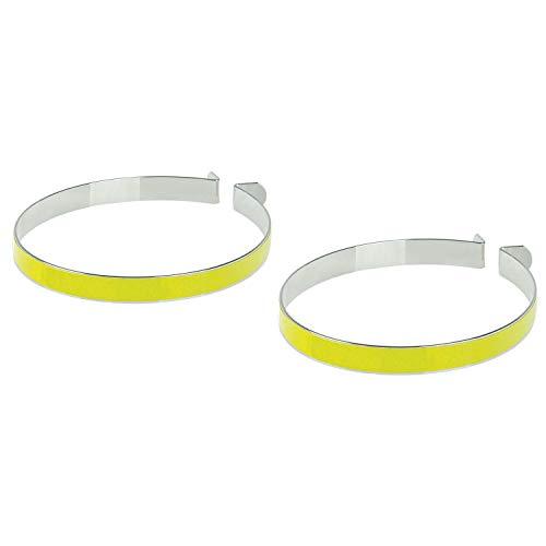 M-Wave Illu Pantclamps N Hosenklammer, aus Stahl, Neongelb, gelb