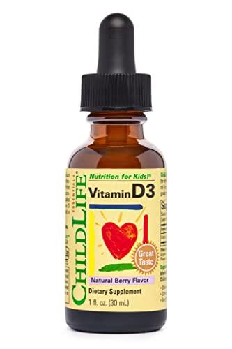 Childlife, Vitamin D3, Mixed Berry Flavor, 1 Flüssigunze (29,6 ml)