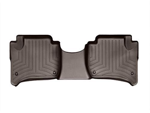 WeatherTech FloorLiner pour Porsche Cayenne 92A Climat Bi-zone 2010-17|Cacao|2ème Rangée