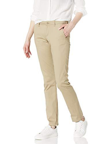 Dickies Juniors Stretch Straight Leg Pant, Desert Sand, 11