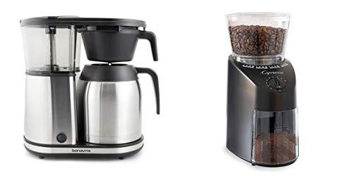 Bonavita Connoisseur One-Touch Coffee Brewer + Capresso Infinity Conical Burr Grinder Bundle