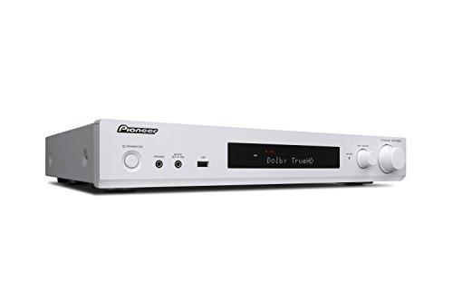 Pioneer 5.1 Kanal AV Receiver, VSX-S520D-W, Hifi Verstärker 80 Watt/Kanal, Multiroom, WLAN, Bluetooth, Hi-Res Audio, Streaming, Dolby TrueHD/DTS-HD, Musik Apps (Spotify, Tidal, Deezer), DAB+, Weiss