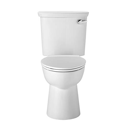 American Standard 238AA115.020 Vormax Ultra High Efficiency Height Elongated Toilet with Right Hand Trip Lever, White